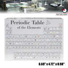 Acrylic Periodic Table Display of Elements Student Teacher Gift Decor NO ELEMENT