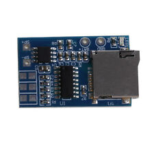 TF Card MP3 Decoder Board 2W Power Module 3.7-5V Mixed Mono Playback With Memory