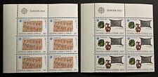 EUROPA Timbre CHYPRE / CYPRUS Stamp - Yvert et Tellier n°577 et 578 x6 n** (Y3)