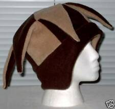 NEW fleece jester snowboard hat- chocolate and camel