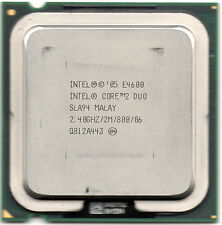 Intel core 2 duo E4600 2400MHz, 2M, bus 800 socket 775.