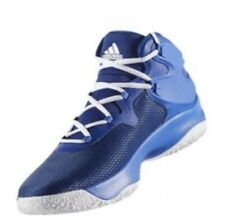 hot sale online 69a32 20771 Adidas Men s Size 19 Crazy Bounce Basketball Shoes Blue White Explosive New