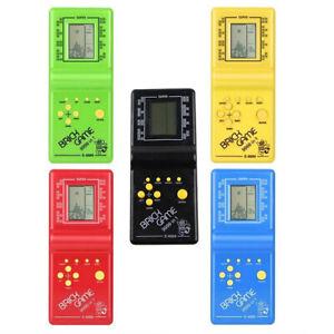 Classic Nostalgic Tetris Brick Handheld LCD Video Games Toy Machine Arcade OZ
