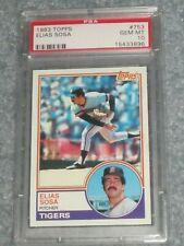 1983 Topps Baseball #753 Elias Sosa