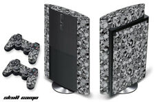 Skin Decal Wrap For PS3 Super Slim PlayStation 3  Console + Controller Skull Cam