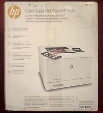 HP LaserJet Pro M454dn Color Laser Printer - White