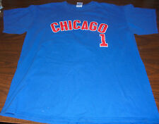 Chicago Cubs shirt size Large L MLB Major League Baseball Fukudome 1 RARE Sports