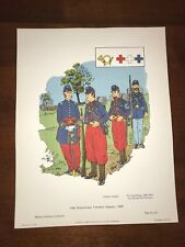 Military Uniforms in America Print #311 1968 95th Pennsylvania Infantry 1860