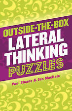 Outside-The-Box Lateral Thinking Puzzles, Good Condition Book, Des MacHale, Paul