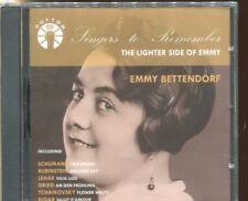 Emmy Bettendorf - The Lighter Side of Emmy (CD, Aug-2004, Dutton Laboratories)