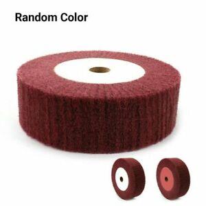 6/8 Nylon Fiber Flap Polishing Wheel Disc Non-woven Abrasive Buffing 320 Grits