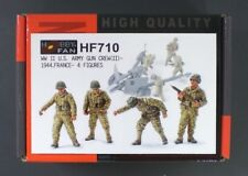 Hobby Fan 1/35 Scale WWII US Army Gun Crew France 1944 4 Figures Item No. HF710