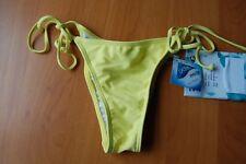 BNWT Billabong Ladies/Womens Leia Brazilian Bikini Bottoms - S - Bright Yellow