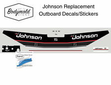 Johnson 15hp Replacement Outboard Decals/stickers