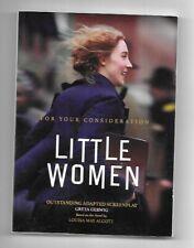 Little Women Screenplay FYC Script Book by Greta Gerwig 2019
