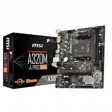 CCL 3.9GHz AMD Quad Core Ryzen 3 3100 Bundle - MSI A320M-A PRO MAX Motherboard