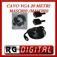 CAVO VGA 20 METRI MASCHIO MASCHIO M TO M 20MT PROLUNGA DA VGA A VGA 2000CM