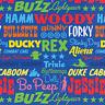 Toy Story Party Supplies Beverage Party Napkins/Serviettes 16pk 2Ply 25cm