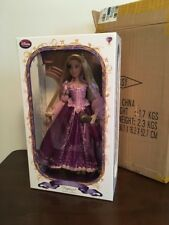 "Disney Store Purple RAPUNZEL Limited Edition Doll TANGLED Deluxe Princess 17"" LE"