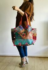 Embroidered Art Banjara Ethnic Vintage Hobo Bag Cotton Women's Shopping Hand Bag