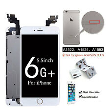 OEM iPhone5 6 6s Plus LCD Touch Screen Digitizer Replacement Home Button+Camera