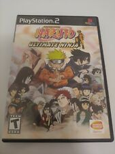 Shonen Jump's Naruto Ultimate Ninja PS2 PlayStation 2 Complete