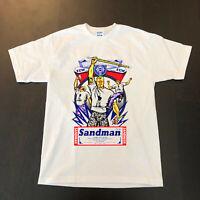 ECW Sandman NEW T-Shirt Blood Sweat Beers gildan NEW