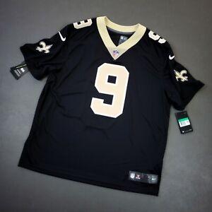 100% Authentic Drew Brees Nike Saints Vapor Limited Jersey Size 48 XL Mens