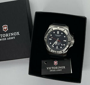 Victorinox Swiss Army 241733.1 INOX Professional Diver Men's Black Rubber 45mm