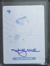 2013 Topps Finest Cyan Printing Plate Autograph #RA-SM Shelby Miller No 1 of 1