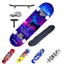 Skateboard Holz Kinder Board Kickboard Holzdeck Old School Kanadischer Board DE