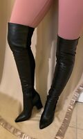 "Sam Edelman - ""Natasha"" Black Leather Boots - Women's Size 7.5"