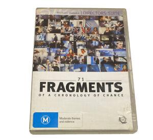 71 Fragments Of A Chronology Of Chance (DVD, 2007) Michael Haneke