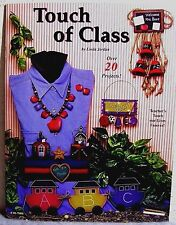 """Touch of Class"" Decorative Tole Painting Teacher/School/Fall Craft Project Book"