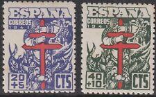 SPAIN  1941 Fight against Tuberculosis. Set M/Mint   (p252)