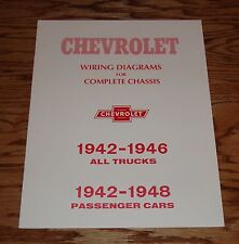 1942 - 1948 Chevrolet Car & Truck Wiring Diagrams for Complete Chassis Chevy