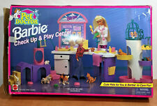 Barbie Checkup And Play Center Pet Doctor Mattel Toy Doll Sets
