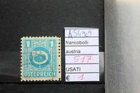 FRANCOBOLLI AUSTRIA USATI N. 517 (A54909)