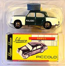 Mercedes Benz 180 Ponton Polizei 1:90 Schuco Piccolo 01653