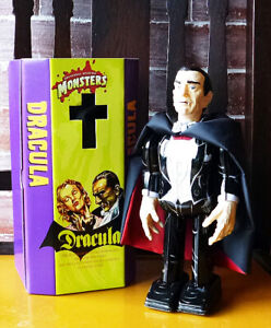 Universal Monsters Dracula Wind-up toy tin walk MADE IN JAPAN