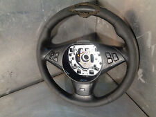 BMW E60 E61 2004-2010 530D LCI M Sport steering wheel +multi function SEE PICS 3