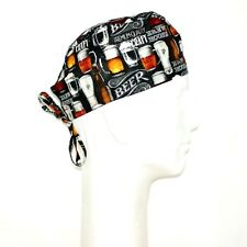 Beer Brew House Theme Scrub Hat