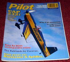 Pilot 2000 September Hurricane,Spitfire,Beech 200,Cessna 208,CAP232