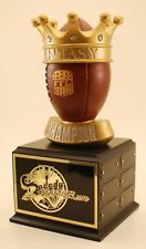 "FANTASY FOOTBALL 14"" 12 YEAR CHAMPION TROPHY- FREE ENGRAVING! SHIPS IN 1 DAY"