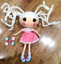 2010 Lalaloopsy Full Size Silly hair doll Suzette La Sweet  White Hair Dress