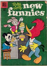 Walter Lantz New Funnies #227 GD 2.0 1956 Dell See my store