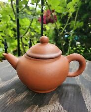 Yixing Clay Teapot Tea Pot Signed Stamped Vintage Antique