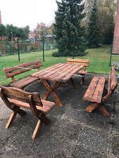 Gartenmöbel massivholz, Terrassemöbel, Gartensitzgruppe-Set