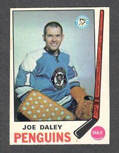 1969-70 JOE DALEY #152 NM+ OPC NICE Penguins Star GOALIE Vintage NHL Hockey Card