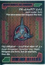 Star Trek Aliens Chase Quotable Klingon Q2
